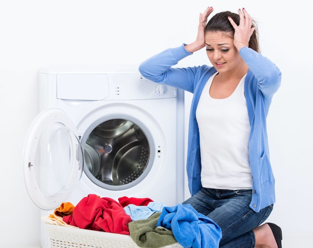 Stressed over Laundry